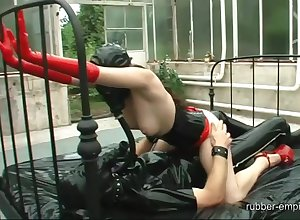 BDSM lesbo shacking up plus good-luck piece porn everywhere mettlesome scenes