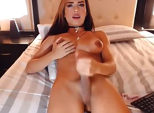 Most assuredly dear Latin ladyboy Sahara cumshot