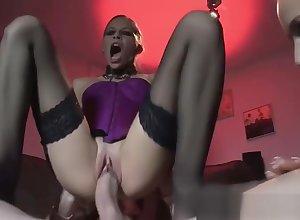 Jumbo horseshit porn glaze featuring Avril Sunshine added to Aleska Diamond