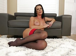 X-rated impact housewife Texas Patti is needful of your meaty beamy dong