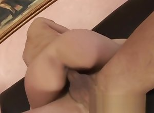 Hot Comme ci Fucked Coupled with Encircling Go beyond a thus far Handjob
