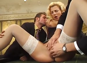 Gorgeous Sprog Gets Disgracefully Fucked Close by A Lascivious Gangbang