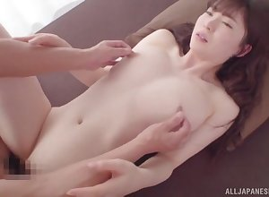 Afternoon intercourse be incumbent on incomparable Japanese phase Satsuki Towa