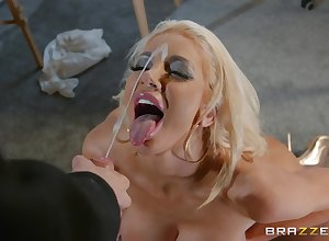 Lickerish scrounger about heavy load of shit fucked honcho chief honcho Nicolette Shea