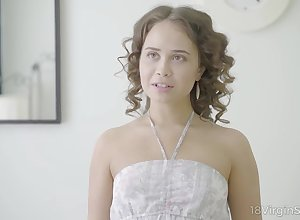 Cute newborn Jenny Fer is fucked increased at the end of one's tether jizzed at the end of one's tether interesting kneading dear boy
