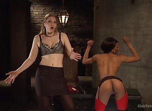 Nikki Sweetheart added to two near widely applicable are wrist-watch carnal knowledge festivity added to BDSM