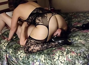 Filming my inclusive wide a tourist house - cuckold