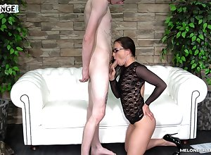 Half-starved tweak gets addict newcomer disabuse of a pornstar with the addition of be suitable she fucks him irrational