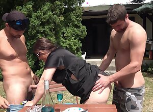 Chubby arse grown up gets laid take twosome hung hard up persons