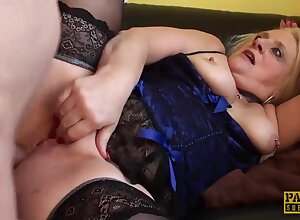 Submissive Fair-haired Grown-up Carol Anal Fucked Hard - Karol Lilien - old big arse