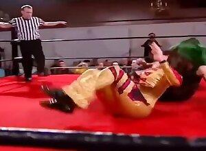 (Women Wrestling) Dark Angel Sarah Amass vs MsChif