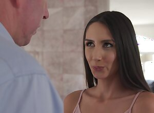 Horny younger girl gets fucked wide of the brush sugar-daddy - Natalia Nix